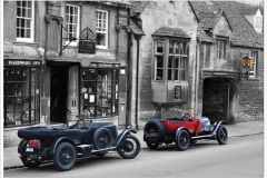 Cars in Campden ~ Time warp at the Post Office